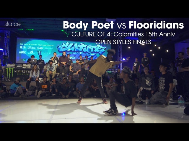 Body Poets vs Flooridians ◄ open styles final.stance ► Culture of 4 ◄ 2017