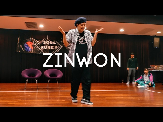Zinwon (KR) | Popping Judge Showcase | NTU Funk Jam 2017 | Danceproject.info