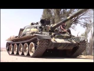Сирия. Хомс. Наступление САА на юго-востоке от Пальмиры.