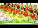 Праздничная закуска - 3 вкусных рецепта! (3 ЧАСТЬ)