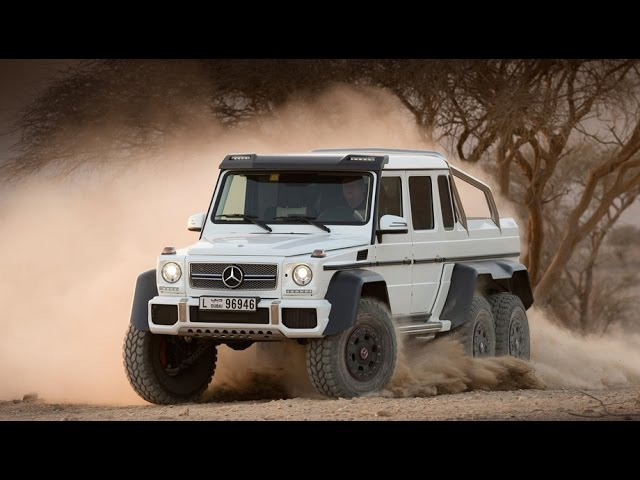 Mercedes-Benz G63 AMG 6х6 Новый гелик 6x6 обзор