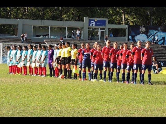 LibertadoresFemenina | Nacional 1-3 San Martín de Porres.