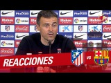 Luis Enrique press conference after Atl