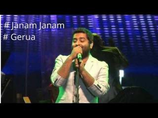 Janam Janam || Gerua Dilwale Song || Arijit Singh Live performance || 2016