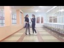 Алина Мищенко и Александра Славинская,видео на кастинг танцы.дети