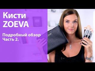 Кисти ZOEVA - Вторая часть подробного обзора!