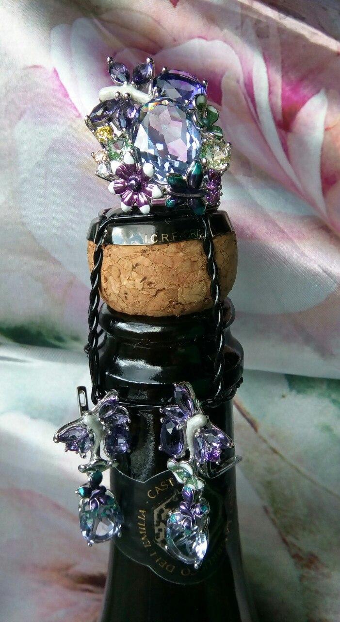 Чудесное просто волшебное кольцо от Santuzza Сразу вспоминается сказка Хозяйка медной горы