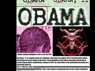 OBAMA = OSAMA - 100% proof