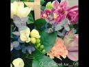 корзина цветов розы 🌹 гвоздики эвкалипт орхидеи ферзи