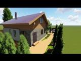 Мой дом проект в ландшафте