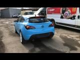 Оклейка кузова Opel Astra J GTC