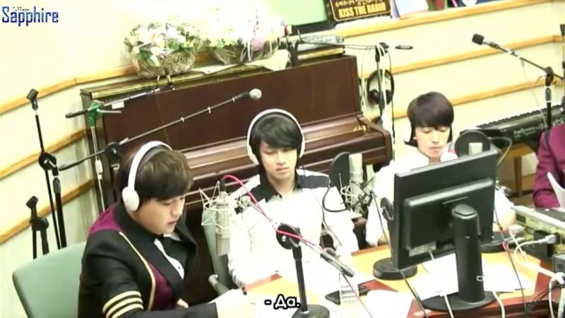 [140910] Super Junior Kiss the Radio - Sukira / Сукира - SuJu (Часть 2) (рус.саб)