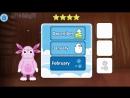 Лунтик Учим Английский язык - Месяца года Развивающий Мультик Игра для детей Lik (1)