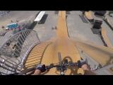 Biker Cop at the Nitro Mega Ramp!!