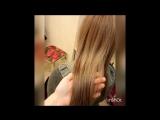 Ботокс волос и окрашивание - изменение и преображение волос. Работа Лазаревой Анны. Модель Оксана Кузнецова