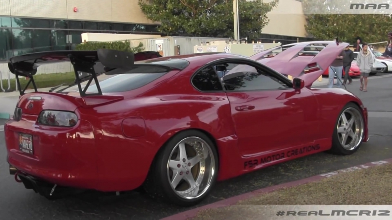 Widebody NA Hero ITB Toyota Supra