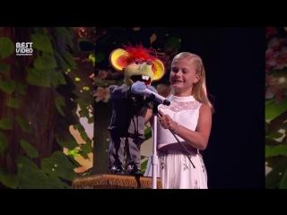 Девочка-чревовещатель выступила с новой песней
