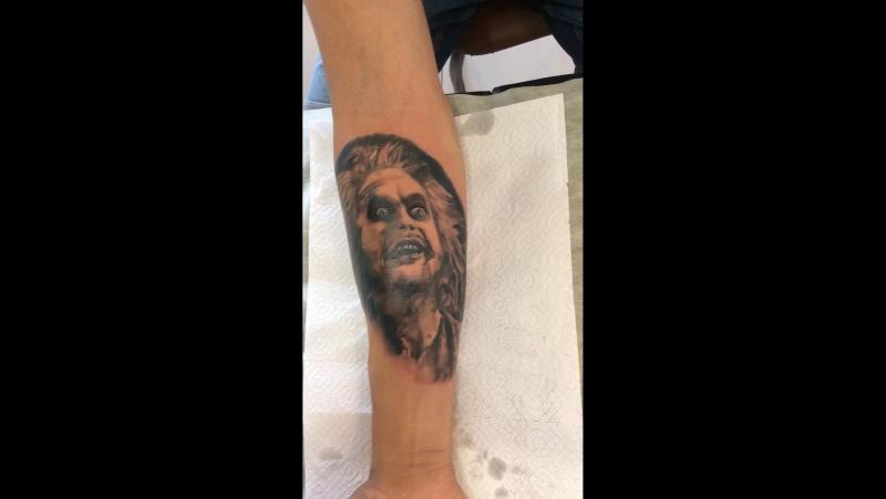 Chernilin tattoo l studio Битлджус, 1 сеанс