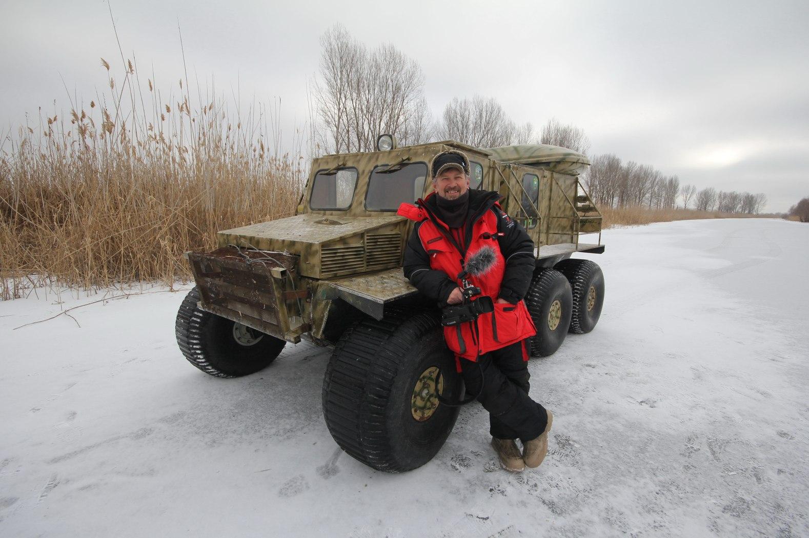 Ведущий программы «Моя рыбалка» Сергей Апрелов |«Застава»|