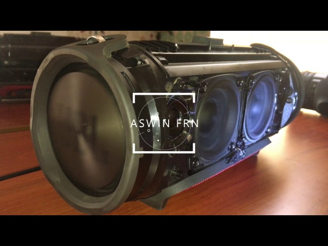 JBL Xtreme - EXTREME BASS Low Frequency Mode [2017]