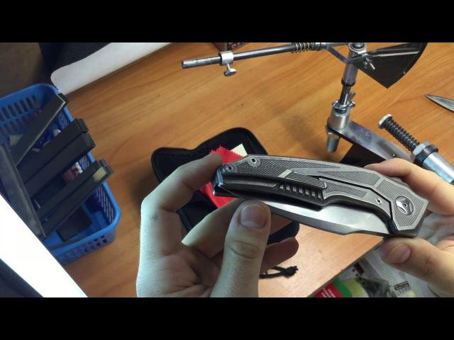 Анбоксинг ножа,приехавшего в мастерскую: CKF MUSCLE, М390