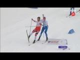 DRAMATIC FINISH of men's team sprint [C] & GOLD for Russia - VM Lahti 2017