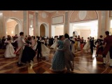 Bohemian National Polka danced at the Ufa Opera House Christmas Eve Ball, Russia