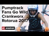 Wild Action From The Pump Track Challenge Presented by RockShox | Crankworx Rotorua 2017