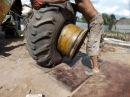 Как разбортировать колесо своими руками JCB 4CX