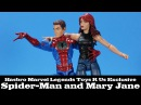 Marvel Legends Spider-Man and Mary Jane Two Pack Toys R Us Exclusive Hasbro