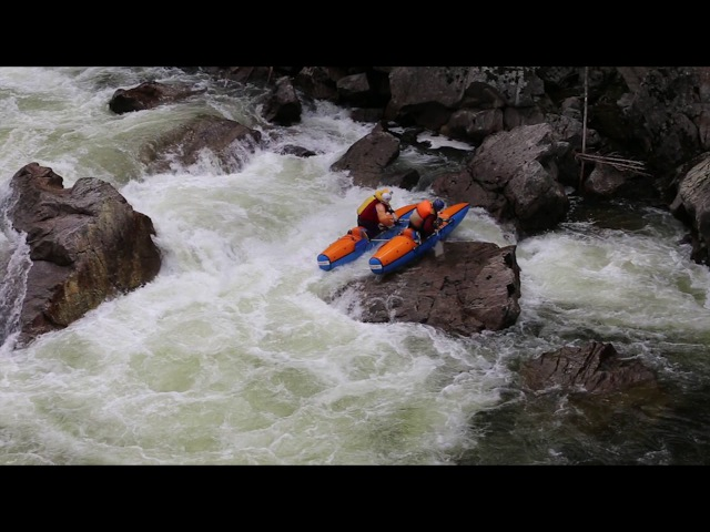 Язулинский каньон - Сплав на катамаранах по рекам горного Алтая