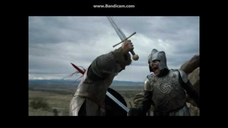 Игра престолов 6 сезон Башня радости бой на мечах лучшый бой на мечах №1
