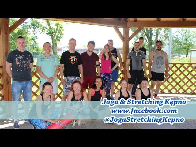 Joga Stretching na otwieranie klatki piersiowej, barkow i lopatek 11.06.17r Kępno