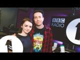 Мэйси Уильямс на утреннем радио шоу BBC Radio1/Sophie Turner Gets Her Revenge On Maisie Williams