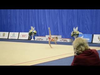 Даша Тимофеева - Фестиваль по художественной гимнастике «Золотая осень». г. Пенза 2016 год