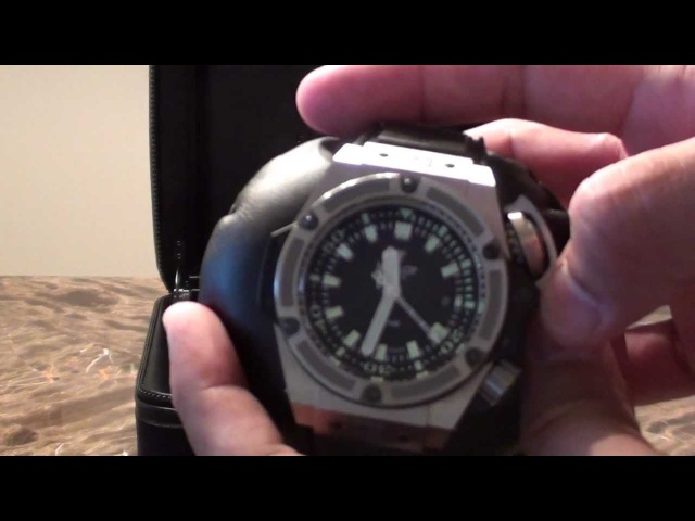 Hublot King Power Oceanographic 4000 Diver Watch 48mm Limited Edition Authentic Review (O4000)