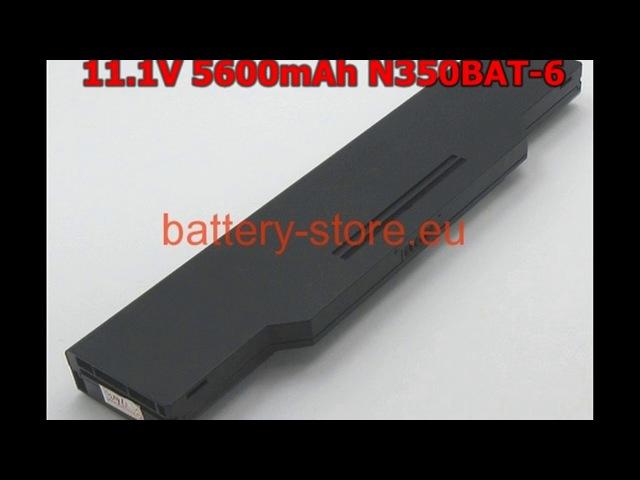 New Arrival 11.1v 5600 Laptop battery CLEVO N350BAT66