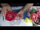 двухцветная роза из Silk Clay от Риты .Two-tone rose from Silk Clay by Rita