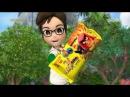 Реклама круассан Чипикао / Chipicao с фишками Энгри Бердз / Angry Birds ТЕТ, апрель 2017