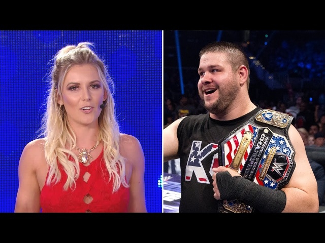 Kevin Owens catches Renee Young red-handed and we can't stop laughing