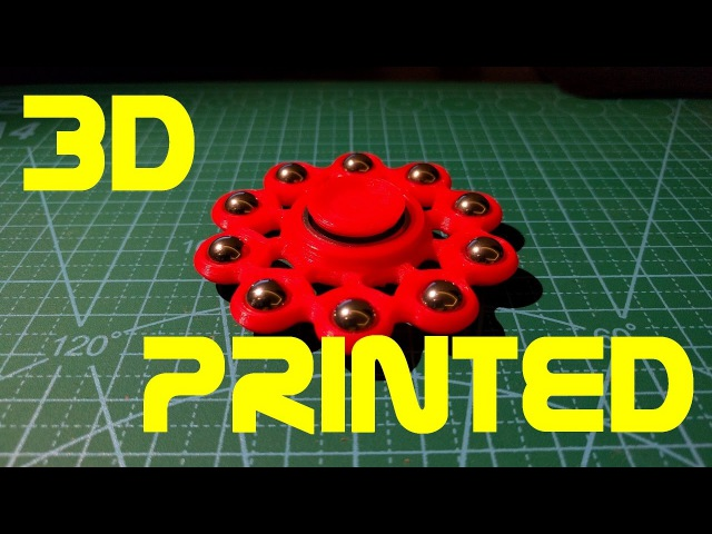 Fidget Spinner - 3D printed