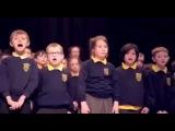 Школьный хор поет Аллилуйя  Hallelujah