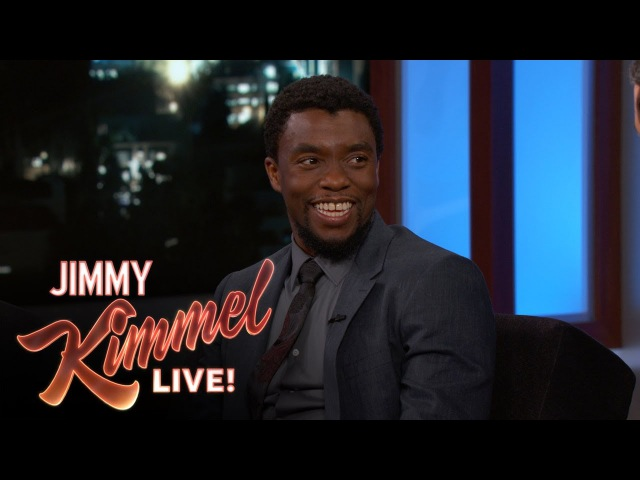 Chadwick Boseman Can't Trust Parents on Movie Sets