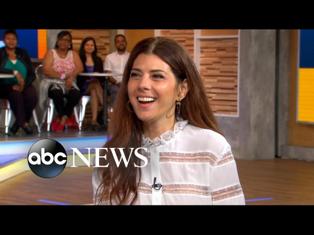 Marisa Tomei dishes on 'Spider-Man: Homecoming'