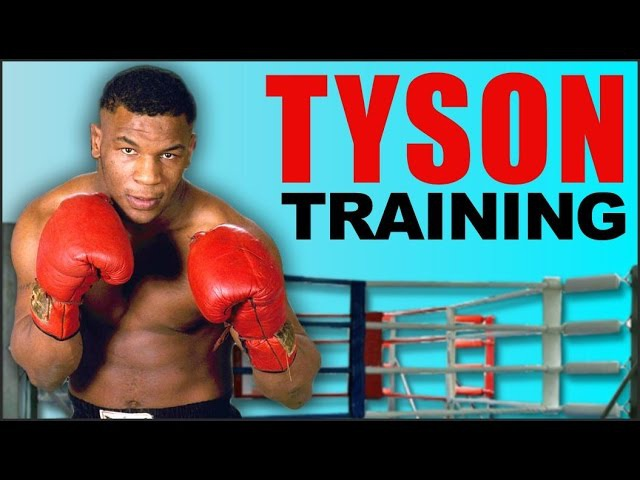 Mike Tyson Training (Kevin Rooney and Cus D'Amato in frame)