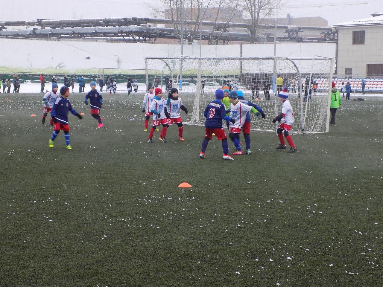 Итоги первого игрового дня турнира по футболу среди детских команд 2008 г.р.