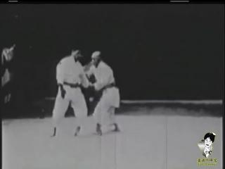 Дзю но ката в исполнении Дзигоро Кано и Кюдзо Мифунэ.