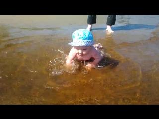 Андрейка на пляже