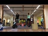 CrossFit_04.11.2016_1.Amrap 5' (0.8*Fran+Берпи)