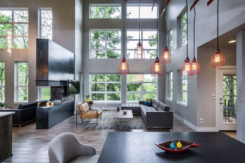 Open Spaces, Large Windows Create Serendipity in Oregon (Part 1)